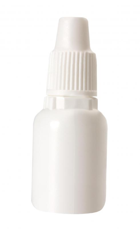 A nasal irrigation spray, which can help with a sore throat and congestion.