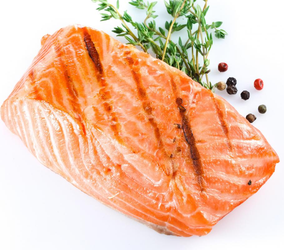 Salmon can be cooked in a variety of different ways.