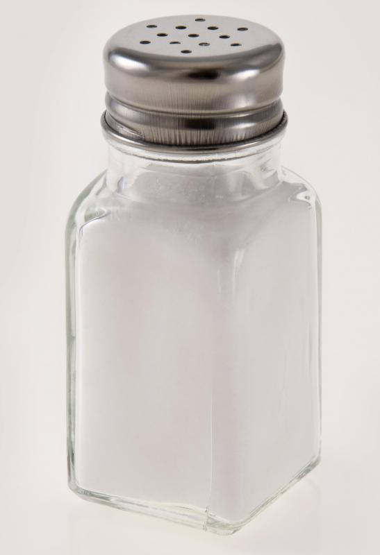 Sodium is the main component of table salt.