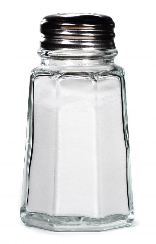 Eating lots of salt can cause bloating.
