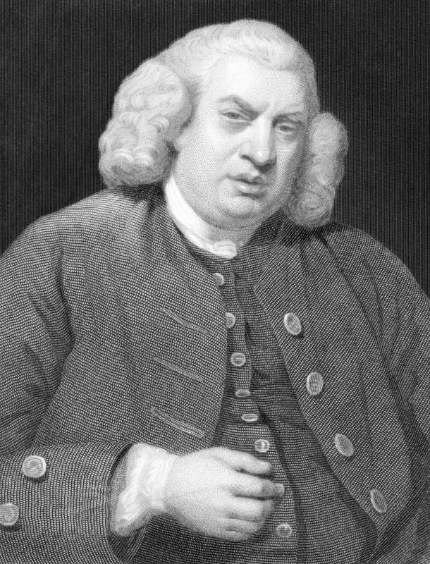 Samuel Johnson was a poet, critic, and novelist.