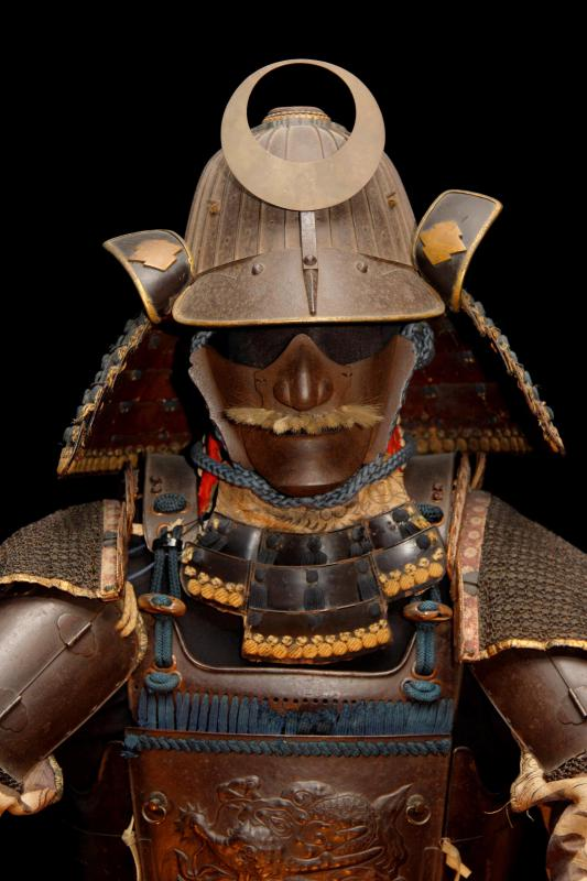 The katana sword is closely associated with the samurai.