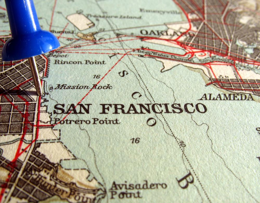 What are Some Tourist Attractions in San Francisco California – Map Of San Francisco Tourist Attractions