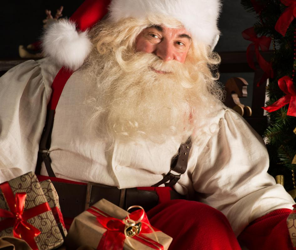 Santa was created from the ideas in several different Christmas stories.
