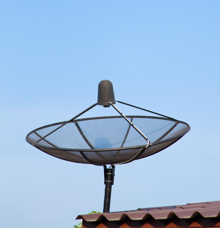 Using a satellite antenna is one way to receive HDTV channels.