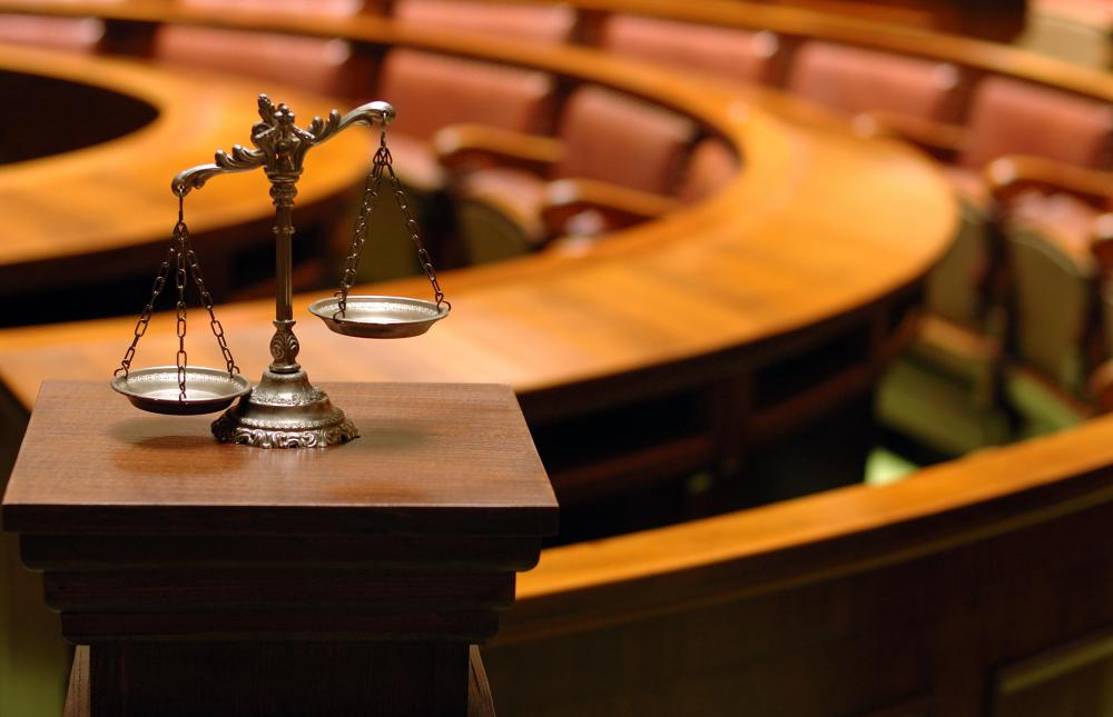 In a jury trial, the jurors assess the culpability of the accused and may award monetary damages.