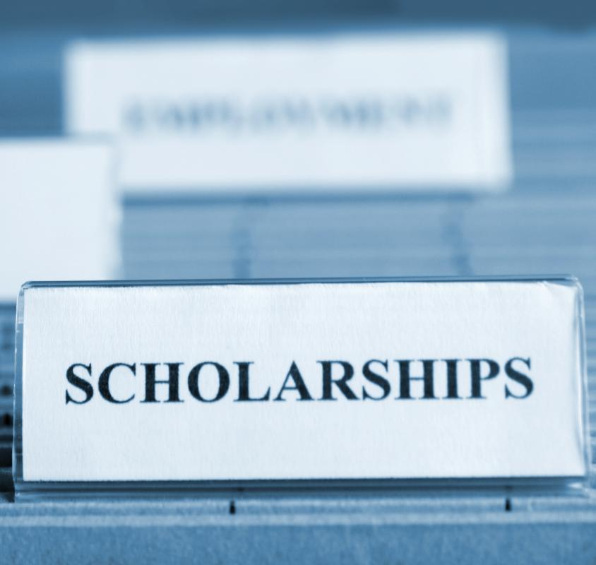 College guidance counselors can give advice on obtaining a scholarship based on community service.