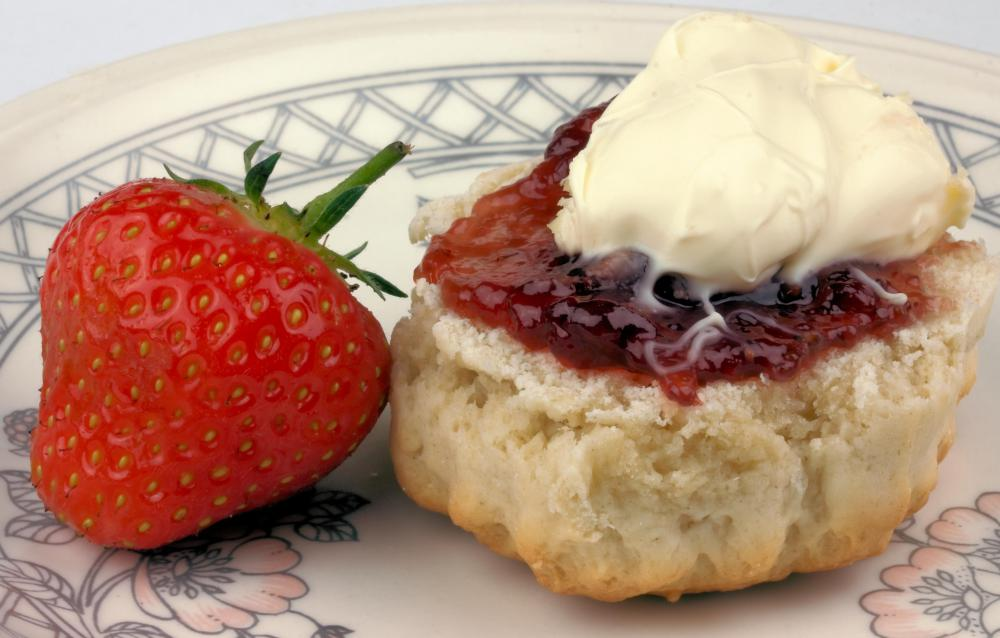 When scones and clotted cream are served, high tea is sometimes called cream tea.