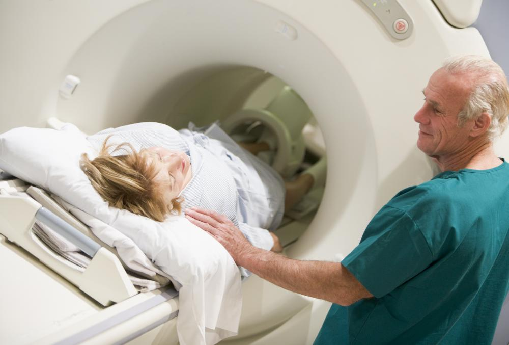 Patients should rely on doctors to interpret the results of a CT scan for them.