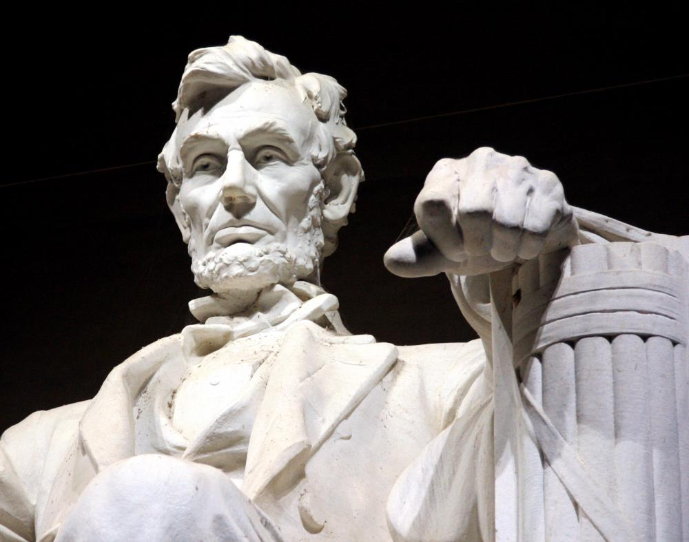 Abraham Lincoln led the Union during the U.S. Civil War.