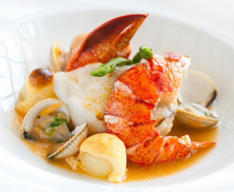 Bouillabaisse is a fish stew that originated in France's Provence region.