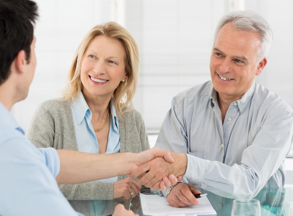 Many retirees choose to meet with a financial planner to discuss their retirement spending needs.