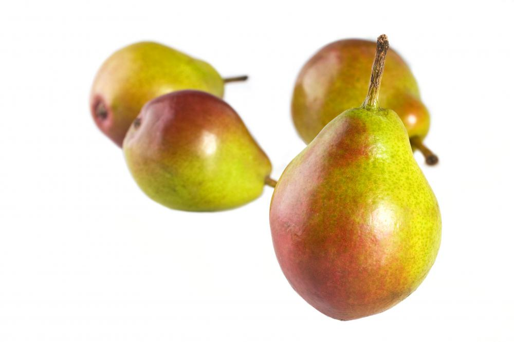 Pears may be used to make cakes, cobblers and tarts.