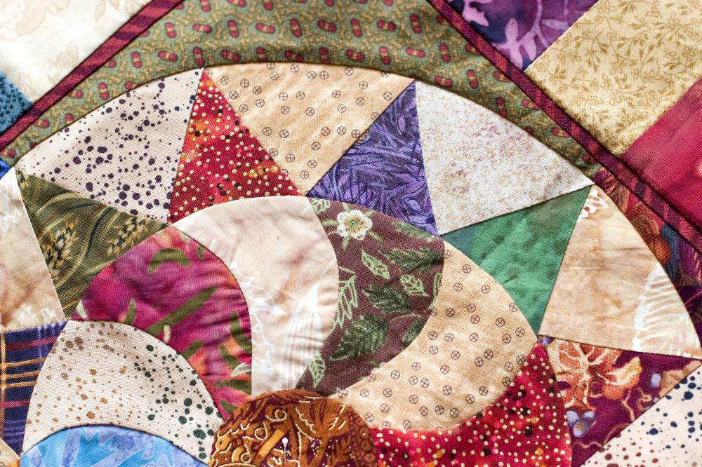 A beautiful quilt is a wonderful and thoughtful get-well gift.