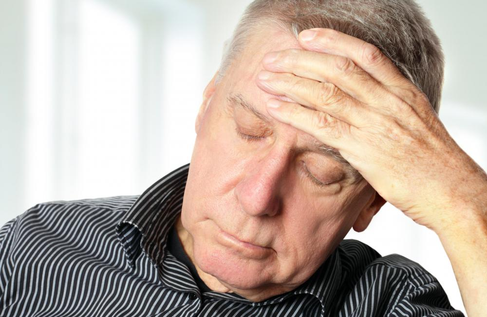 Diarrhea and chills, when accompanied by a headache, may be a sign of a more serious problem for an elderly individual.