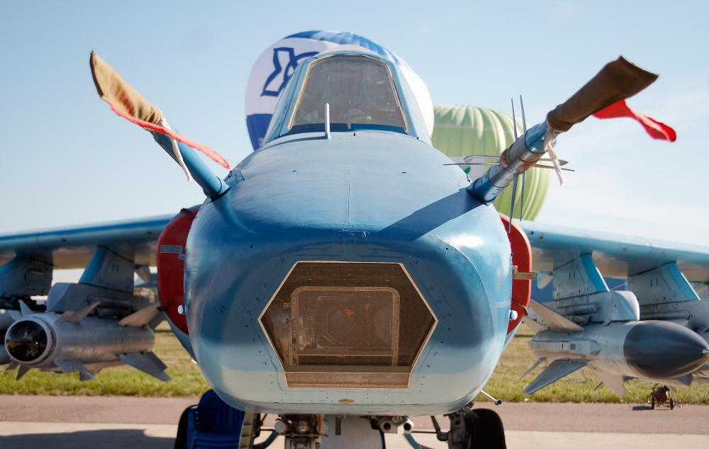 On fighter and ground attack aircraft such as the Russian Su-25 the canopy is usually mounted directed behind the nose to provide maximum forward ... & What is an Aircraft Canopy? (with pictures)