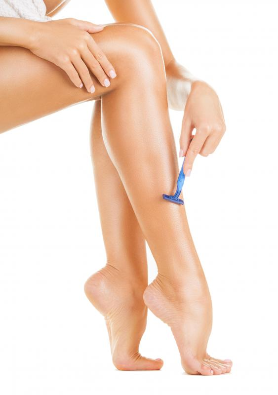 Shaving is the most common type of hair removal.