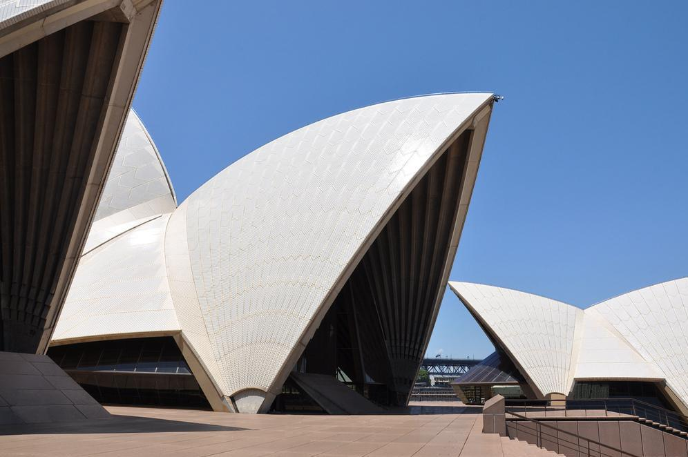 Shell roofs are often used for public structures, as is the case for Sydney's Opera House.