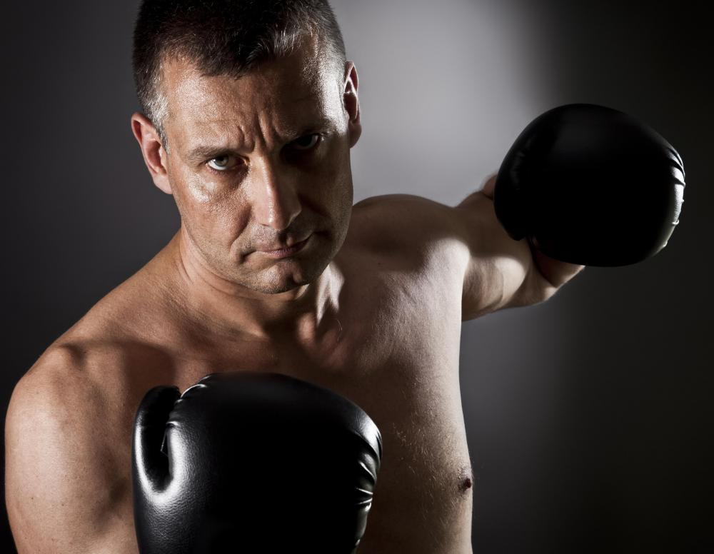 Unlike traditional boxing, aerobic boxing require not contact with others.