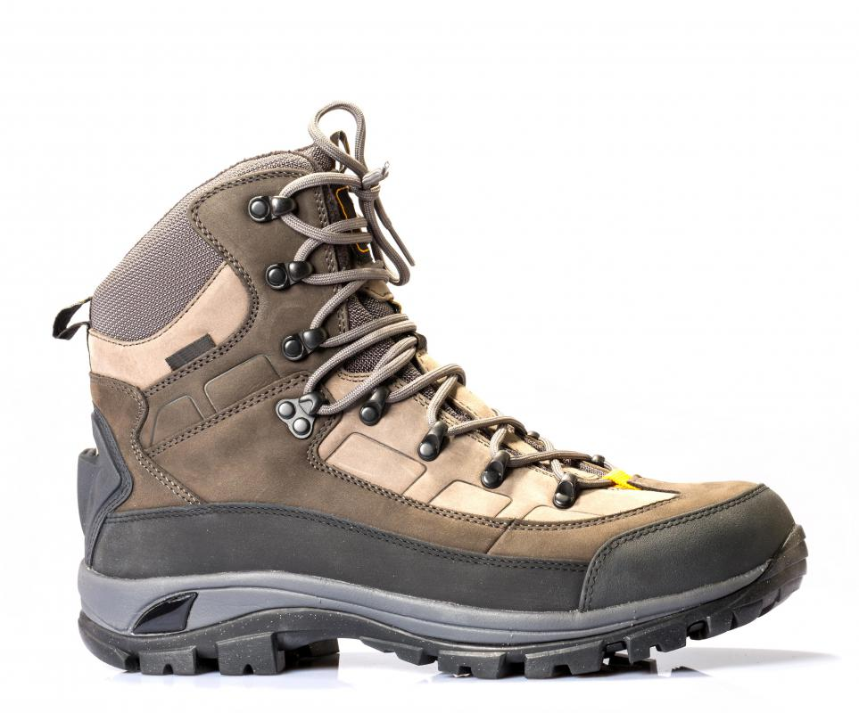 Hiking supplies must include a good pair of hiking boots.