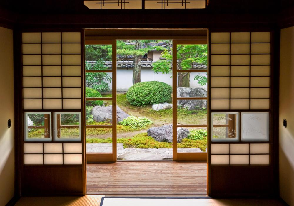 Shoji screens have been used in Japan for centuries.