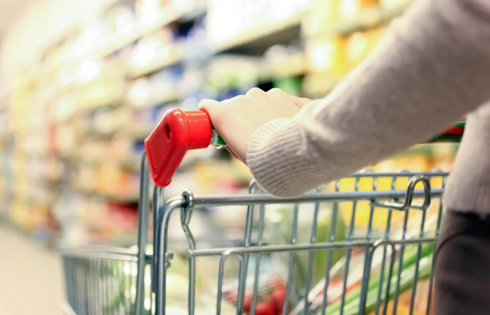 A home attendant helps with household chores and grocery shopping.