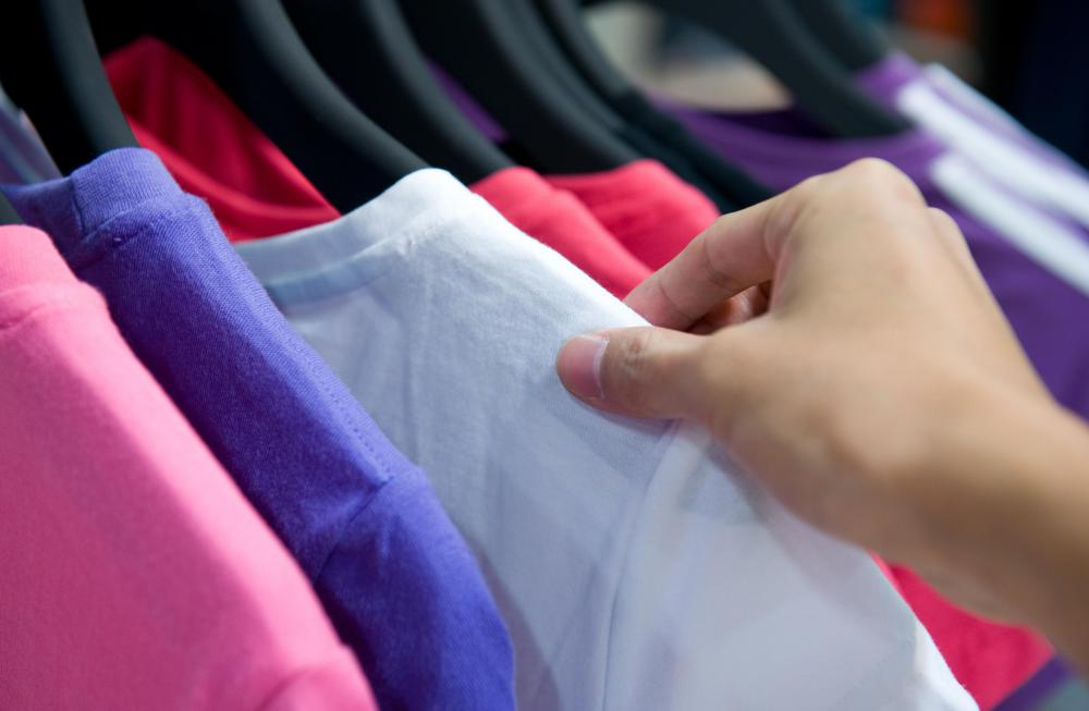 Some clothes can be folded or stored elsewhere when out of season.