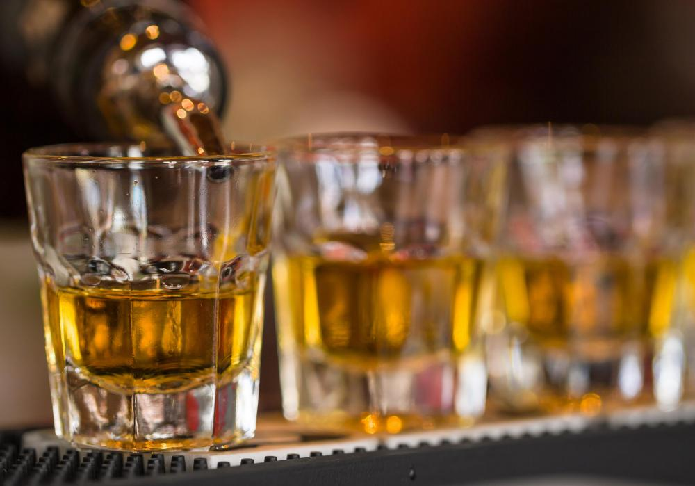 Small amounts of concentrated alcohol, known as shots, are popular but can cause sudden intoxication.