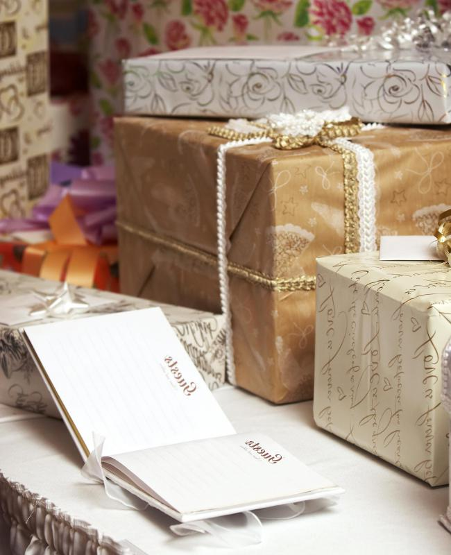 bridal shower gifts may be purchased through an online gift registry