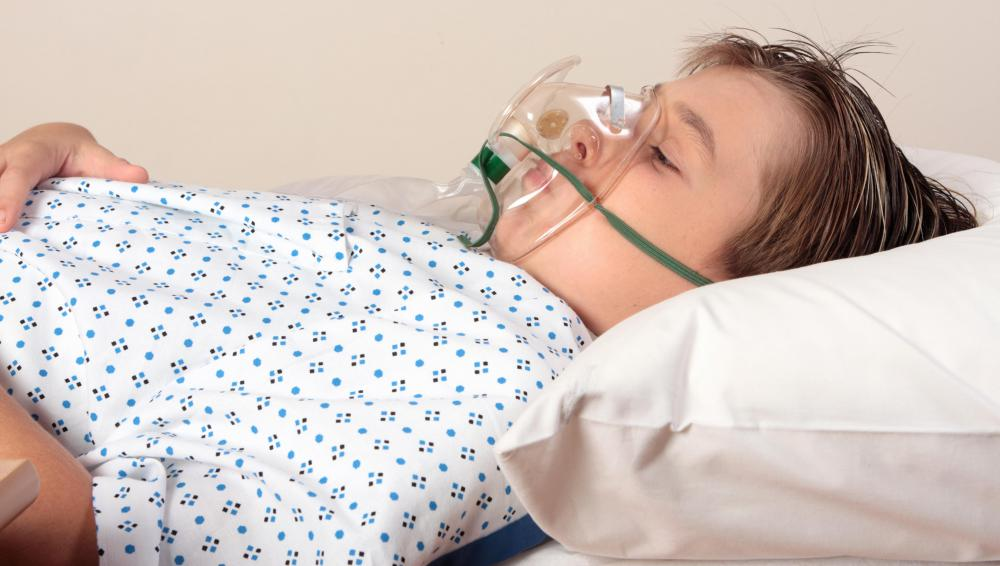 Patients who are in need of a lung transplant may require hospitalization.