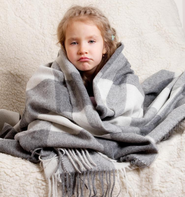 Teflon flu symptoms may include chills.