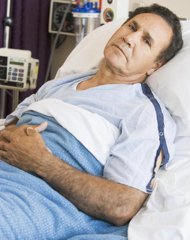Images Of Sick Old Me In Hospital Bed : What is a Malecot Catheter? (with pictures)