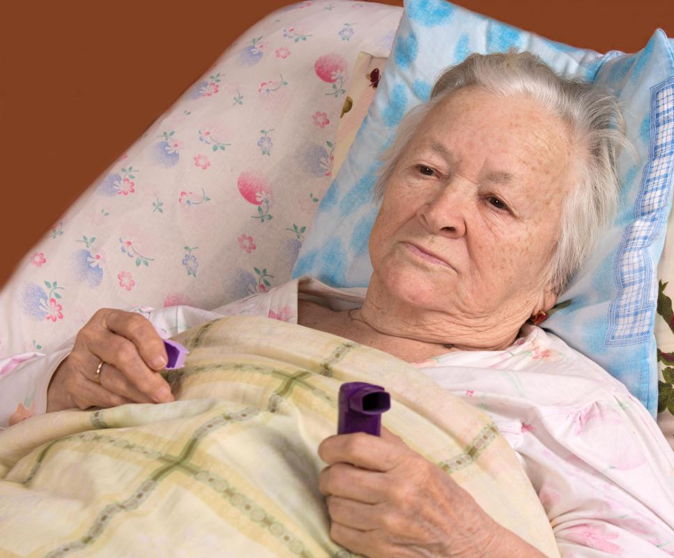 Images Of Sick Old Me In Hospital Bed : Alfa img - Showing > Sick Old Sick Woman On a Bed