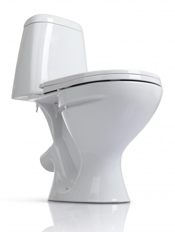 Flanges found on toilets typically utilize a combination of adhesive and bolt-on methods to make joints.