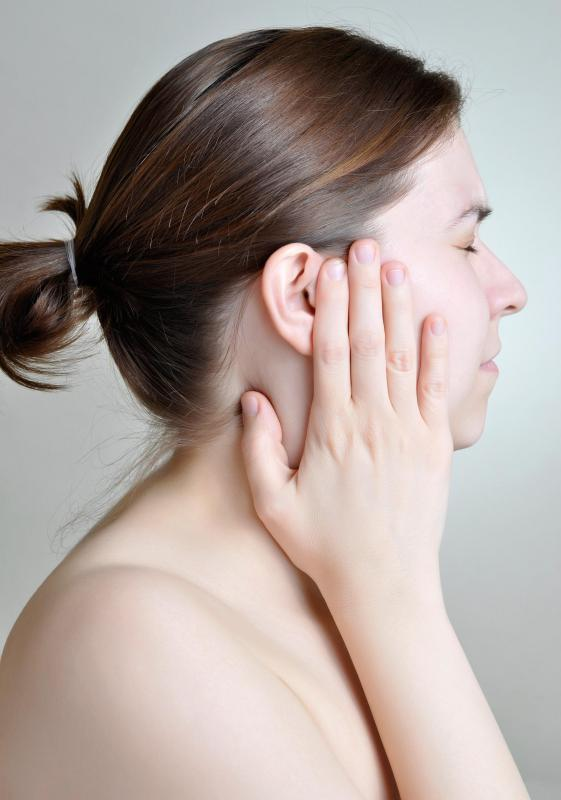 Frequent ear pain may be a sign of  adenoid hypertrophy.