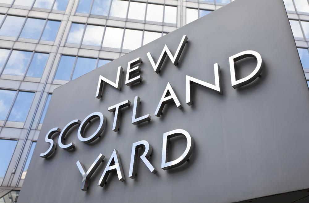 Scotland Yard is the headquarters of London's Metropolitan Police.
