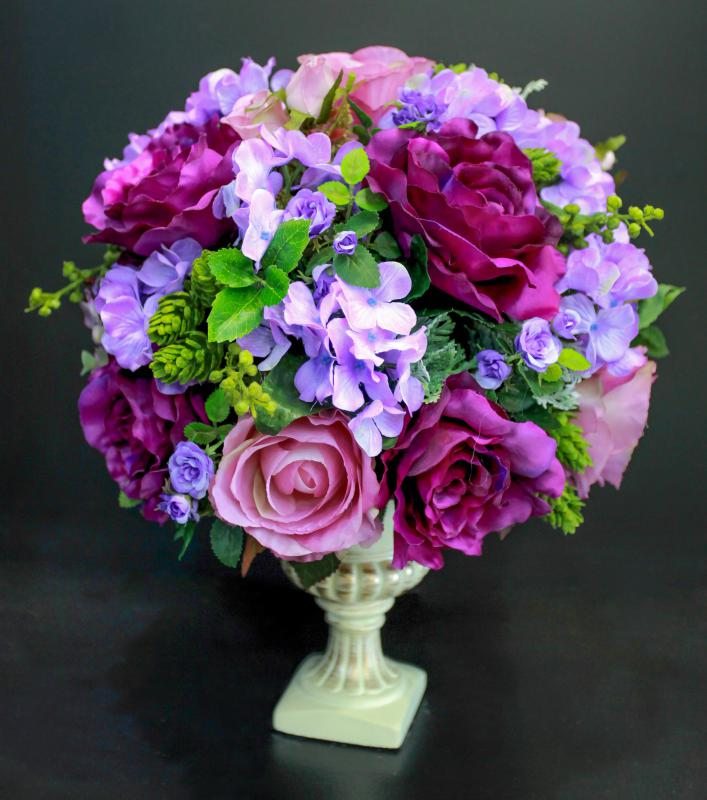 What are the best tips for silk flower arranging styrofoam helps hold silk flowers in place mightylinksfo