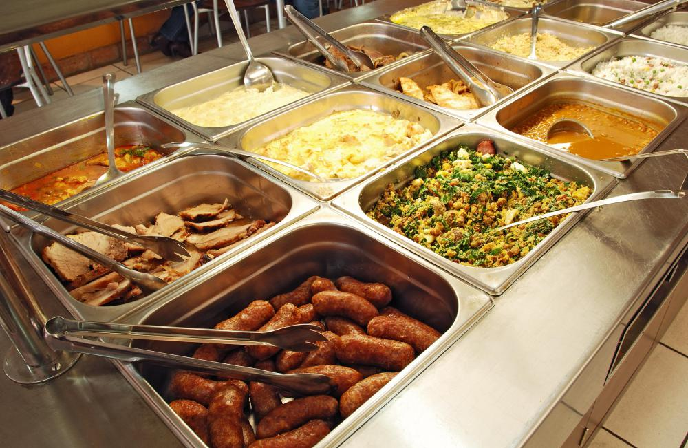 Buffet meals may contain many foods that are high in LDL cholesterol.