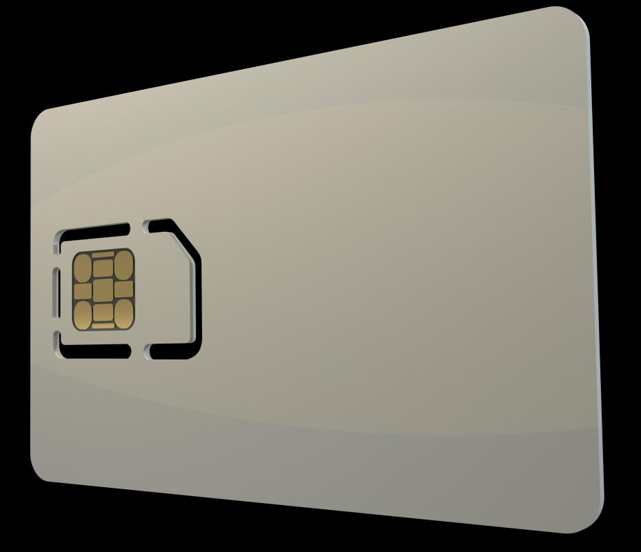 Some sim cards are packaged inside of a larger card in order to protect them from damage before use.