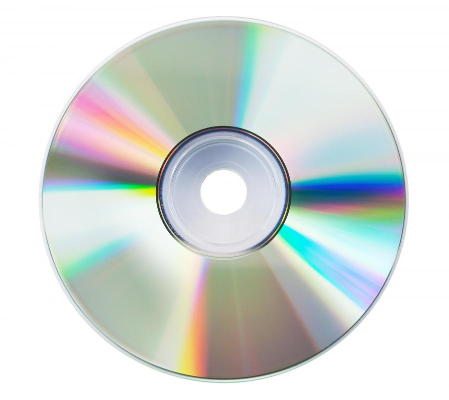 CDs need to be properly stored so they don't get scratched.