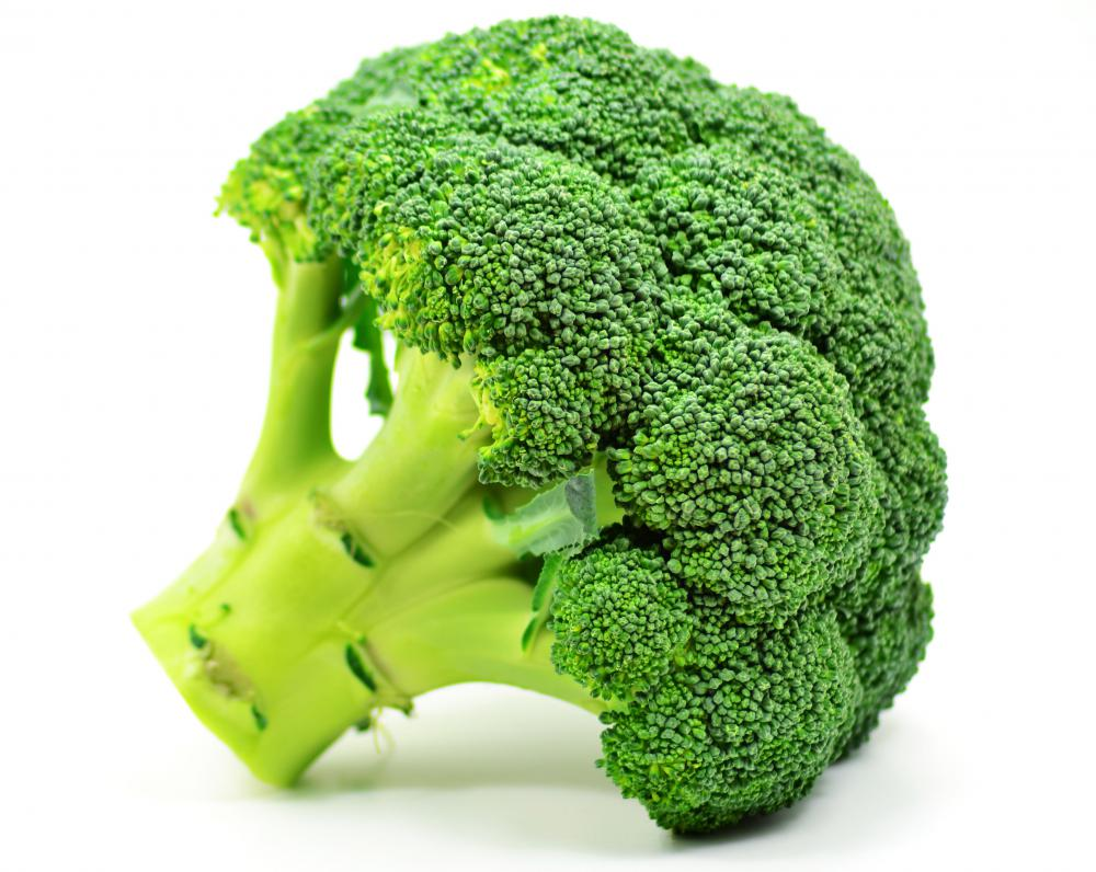 Broccoli is a good source of soluble fiber.