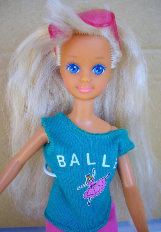 Barbie's younger sister is named Skipper.