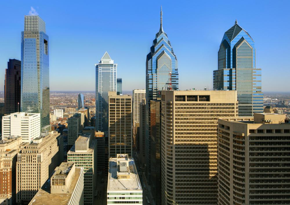 Philadelphia is nearly 400 years old.