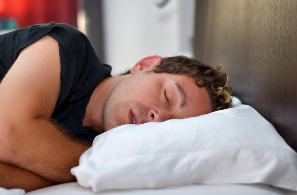 Individuals with sleep apnea stop breathing for a period of time during sleep.
