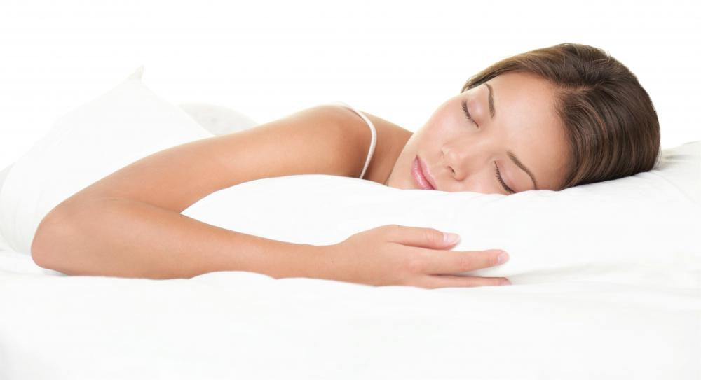Melatonin, which occurs naturally in the human body, is responsible for promoting sleep.