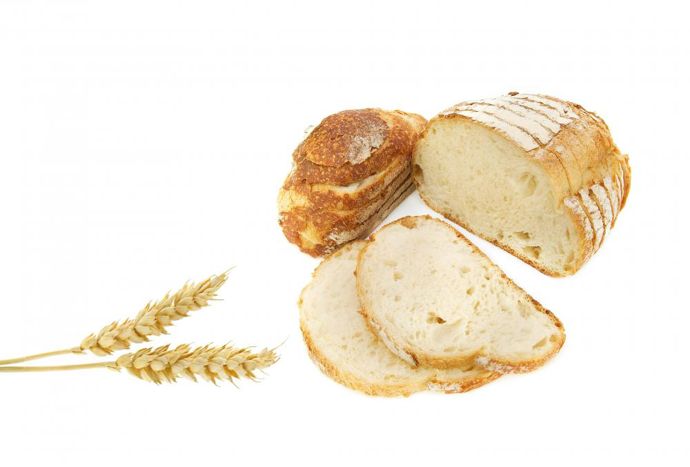 Whole grain bread is made from the entire seed of a grain.