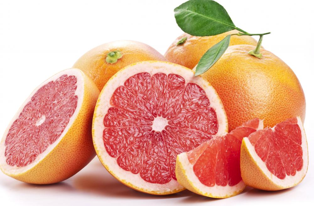 Eating grapefruit can increase the amount of praziquantel adsorbed by the body.