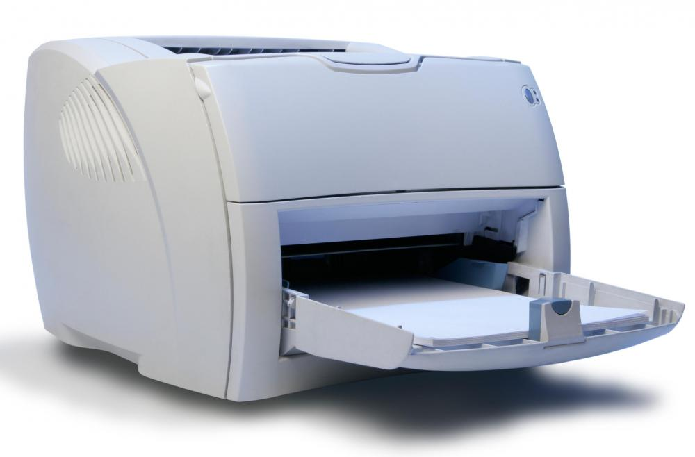 A photo printer may be used to print high-quality digital photos.