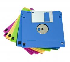 Eventually, floppy disks became smaller, were able to hold more data, and were no longer as floppy.
