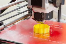 3D printing is a recent development in rapid prototyping.